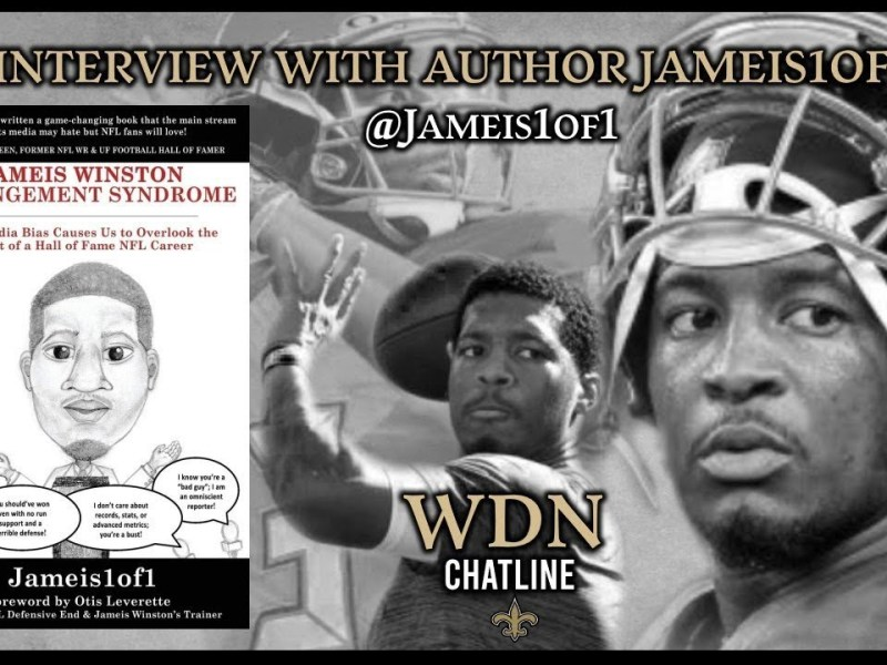 Author Jameis1of1 Talks About Jameis Winston And Gives Thoughts On Pats vs Saints Game