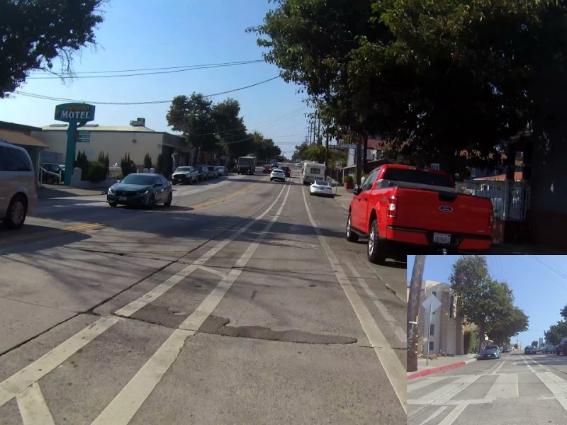 SF Bay Area Bicycle Is Back – Bike Oakland: MacArthur Blvd Westbound, Laurel to Uptown