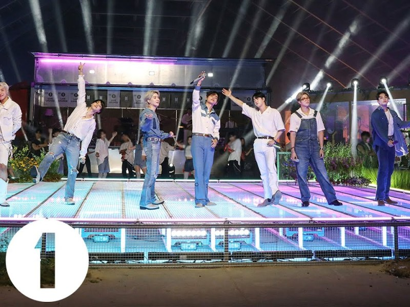 BTS – Permission To Dance in the Live Lounge