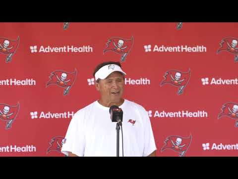 """Tampa Bay OC Clyde Christensen Says """"I Think We're Gonna Be Better"""" In Press Conference"""