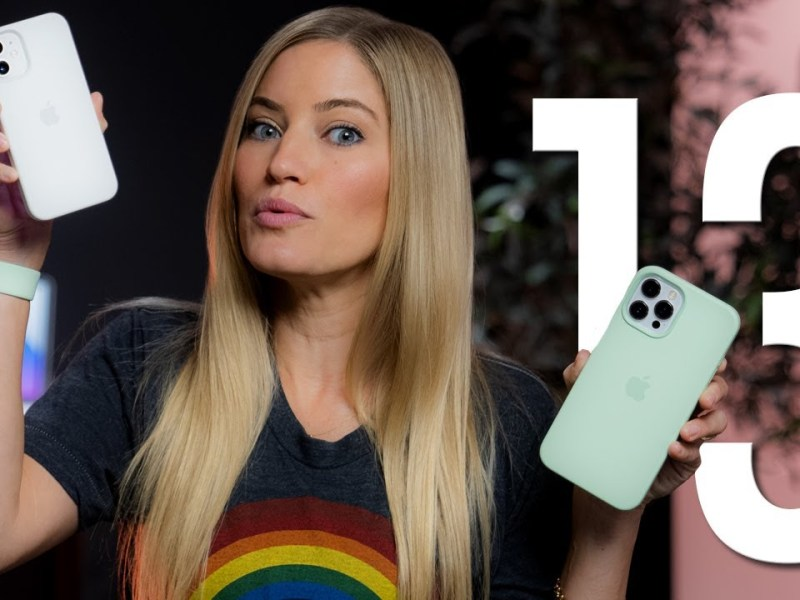 What's New In iPhone 13 and iPhone 13 Pro By iJustine