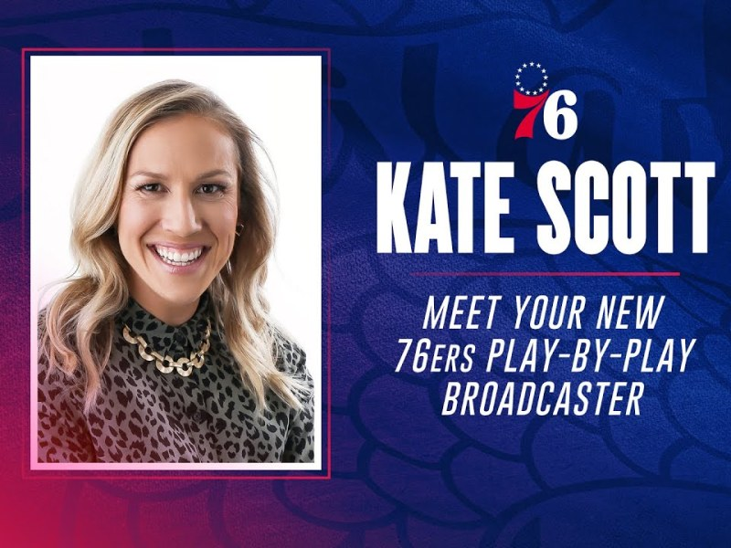 Kate Scott Is First Female Sports Broadcaster – Here's How She Really Got Her Start