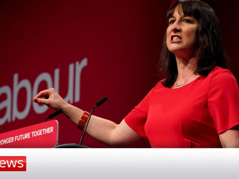 Labour's Rachel Reeves pledges to be 'Britain's first green Chancellor'