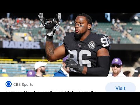 Las Vegas Raiders Will Clelin Ferrell Get To Start In Week Two Vs The Steelers ? By Eric Pangilinan