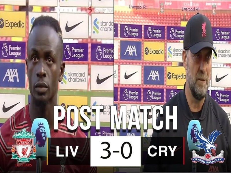 Liverpool vs Crystal Palace 3-0 Post Match Analysis 🔥 Mane Scores 100th Goal In Liverpool Win