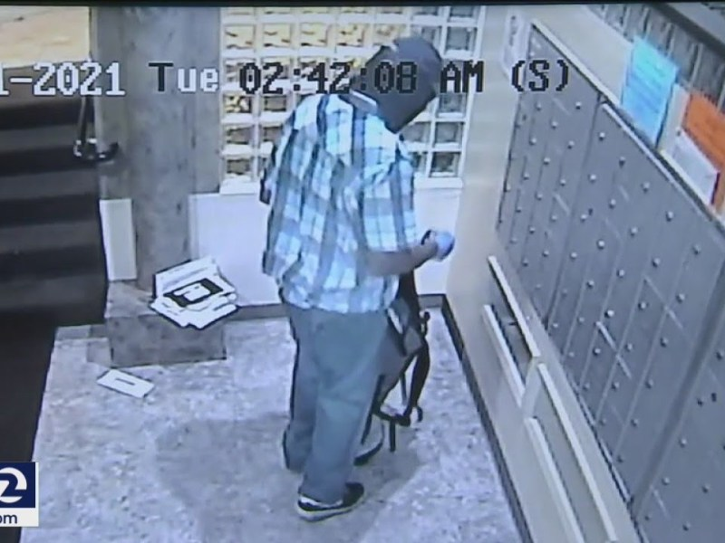 Mail thieves caught on camera in Oakland