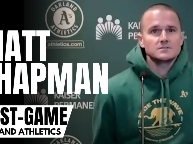 """Matt Chapman Reacts to Oakland A's Slipping in AL Wild Card Race: """"Our Window Is Closing"""""""