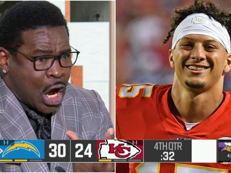 Michael Irvin SHOCKED Kansas City Chiefs loss to Los Angeles Chargers 30-24 in Week 3