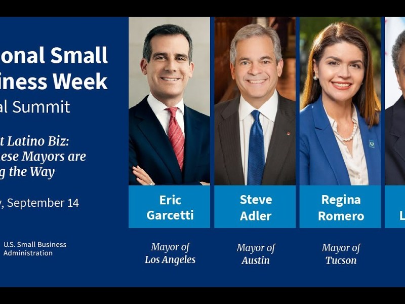 SBA National Small Business Week: Mayors Supporting Latino-Owned Small Businesses