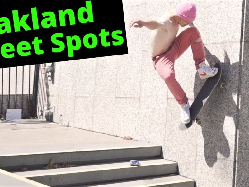 Oakland Street Skating Spots With Locations!