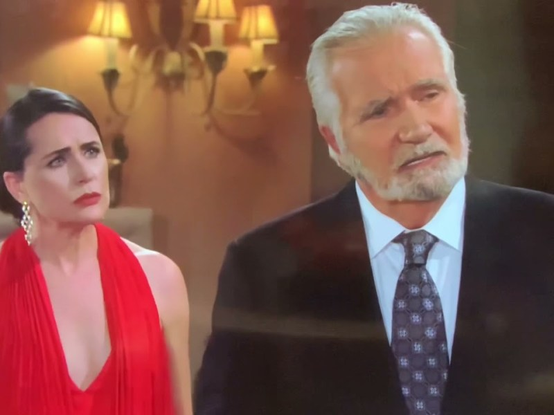 On CBS Soap Opera White Guy Gives Up White Wife To Black Guy Because He Can't Perform In Bed