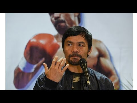 Philippines Manny Pacquaio Announces He Will Run For Presidency In The Philippines B Eric Pangilinan