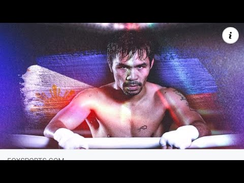 Philippines Manny Pacquaio Retires From Boxing And Will Run For The Presidency By Eric Pangilinan - Blog