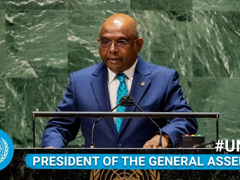 Abdulla Shahid – President of the UN General Assembly Addresses General Debate, 76th Session | #UNGA (English)