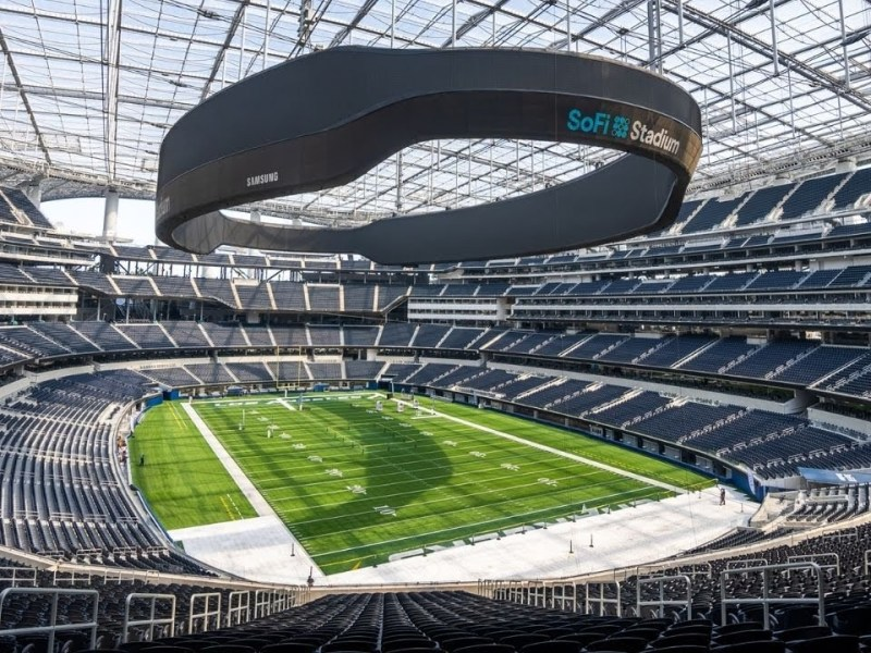 SoFi Stadium Tour in Los Angeles: Home of the Rams and Chargers