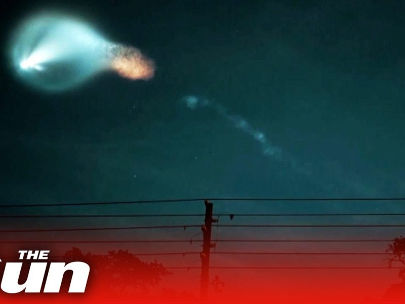 SpaceX launch lights up night sky in Florida & Colorado