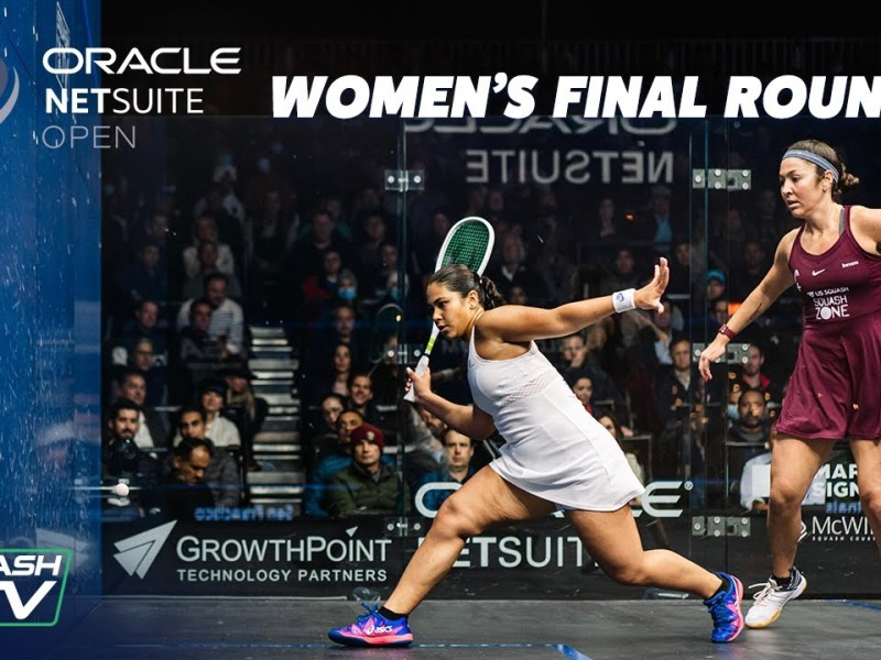 Squash: Hany v Sobhy – Women's Finals Roundup – Oracle Netsuite Open 2021