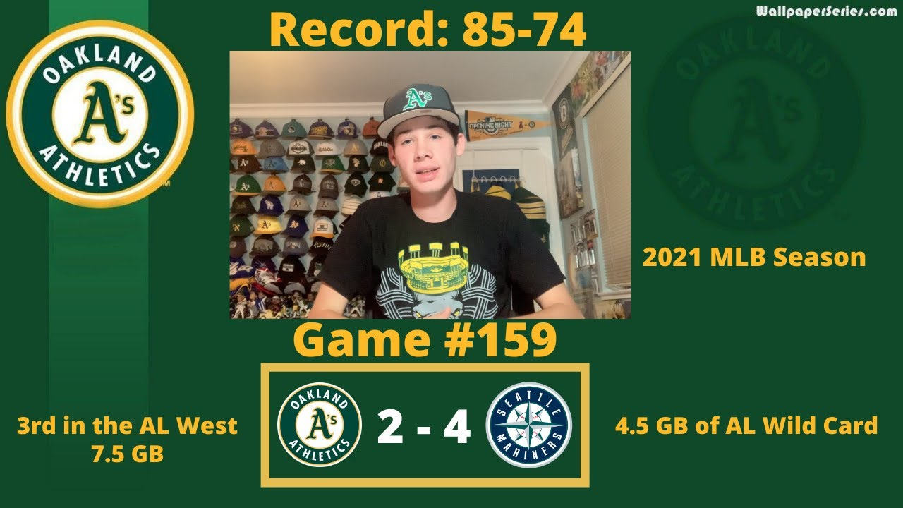 The Oakland A's Have Been Eliminated From Postseason Contention as the Mariners Sweep Them - Blog