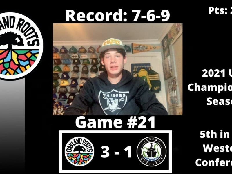 The Oakland Roots Defeat Tacoma Defiance 3-1