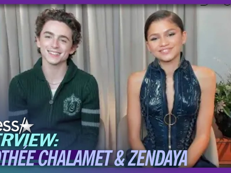 Timothée Chalamet & Zendaya Reveal What They Remind Each Other About At Venice Film Festival