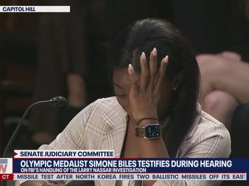 'We have been failed': Simone Biles testifies on Larry Nassar FBI investigation | LiveNOW from FOX