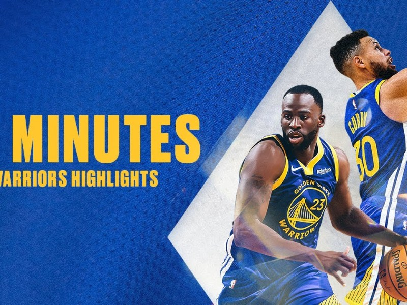 75 Minutes of Golden State Warriors Highlights to Get You Hyped for the NBA Season!