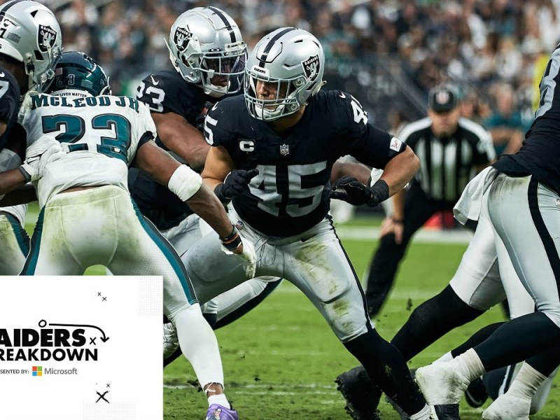 Alec Ingold Playing Physical, Old-school Football at Fullback   Raiders Breakdown   NFL