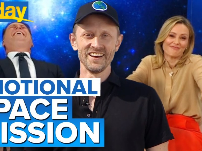 Aussie engineer reveals why he cried on historic Blue Origin space flight | Today Show Australia