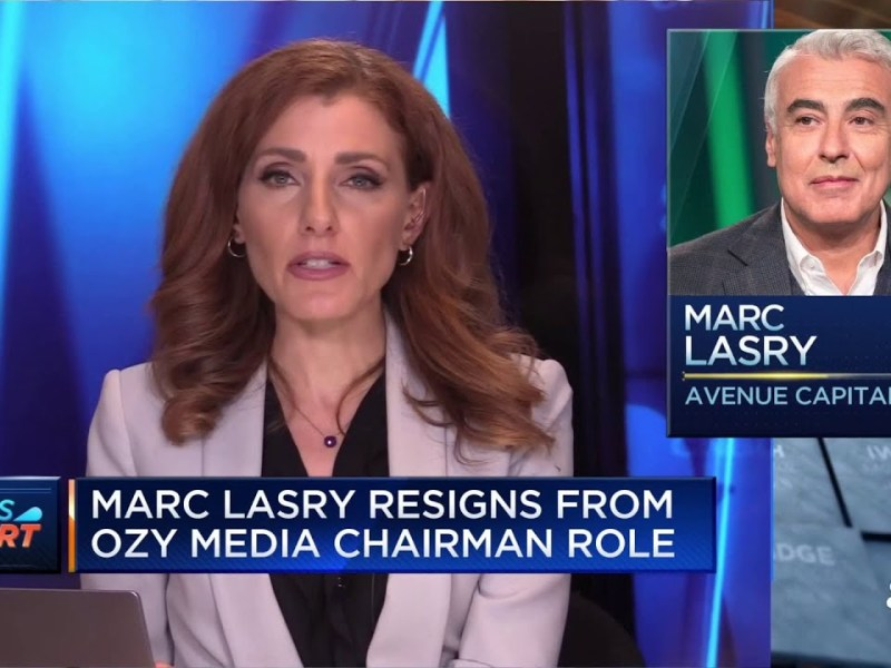 Avenue Capital's Marc Lasry resigns from Ozy Media chairman role