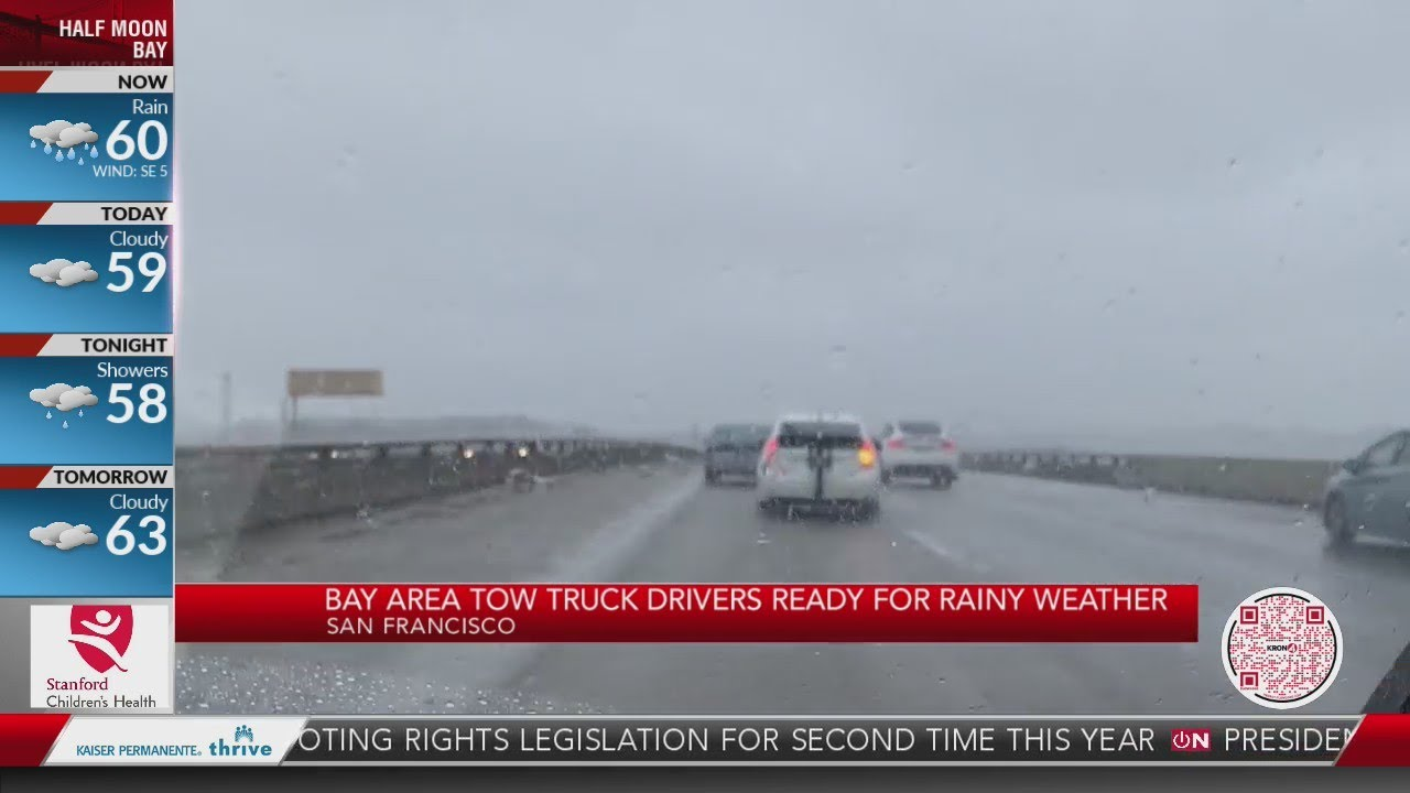 Bay Area tow truck drivers ready for rainy weather – KRON - Blog