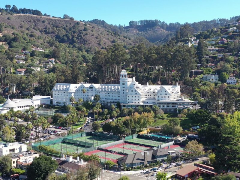 Berkeley Drone Flyover Featuring the Claremont Club & Spa