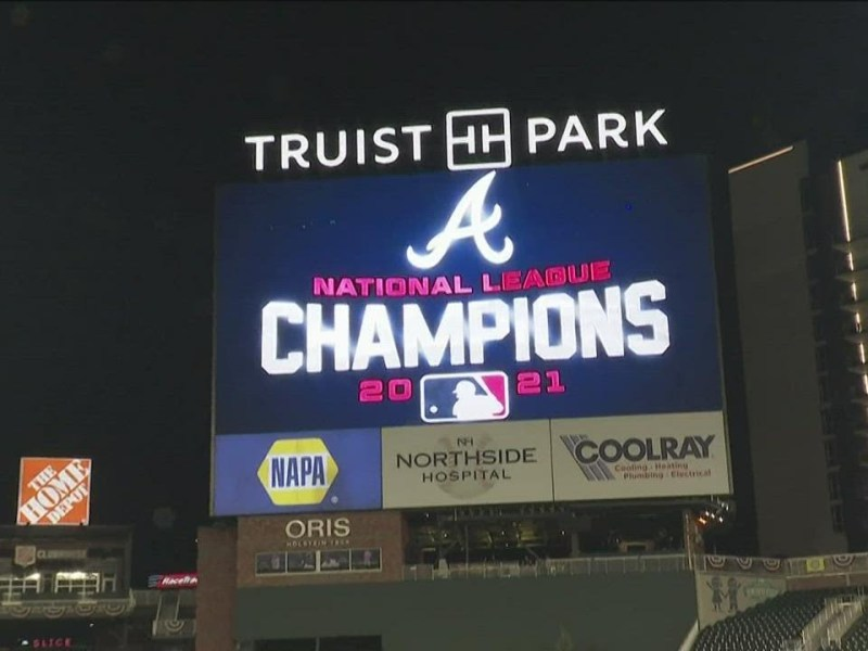 Braves headed to the World Series for the first time since 1999