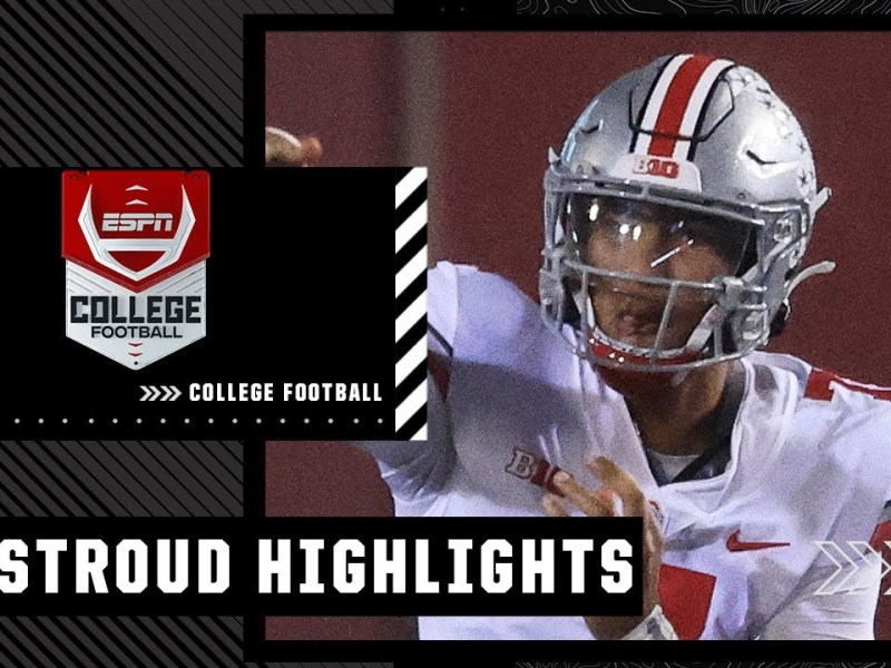 C.J. Stroud throws 4 TDs in Ohio State's DOMINANT WIN over Indiana