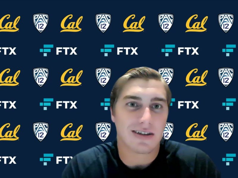 Cal Football: Chase Garbers Press Conference (10.23.21)