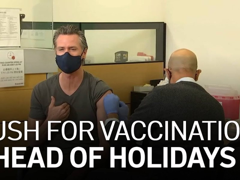 Calif. Urges Eligible Residents to Get COVID-19 Booster Shot as Holiday Season Nears