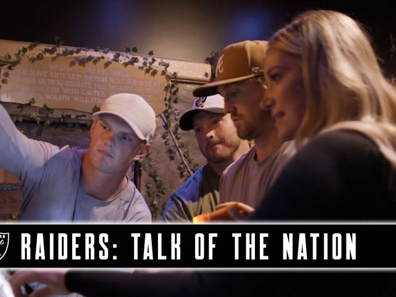 Can the Raiders' Special Teams Trio Break Out of an Escape Room With Kristine Leahy? | Raiders | NFL
