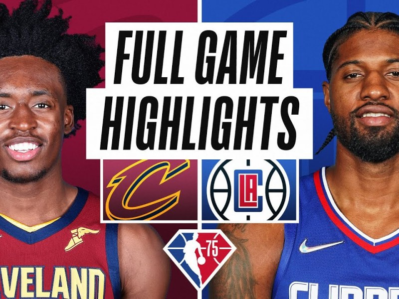 CAVALIERS at CLIPPERS | FULL GAME HIGHLIGHTS | October 27, 2021