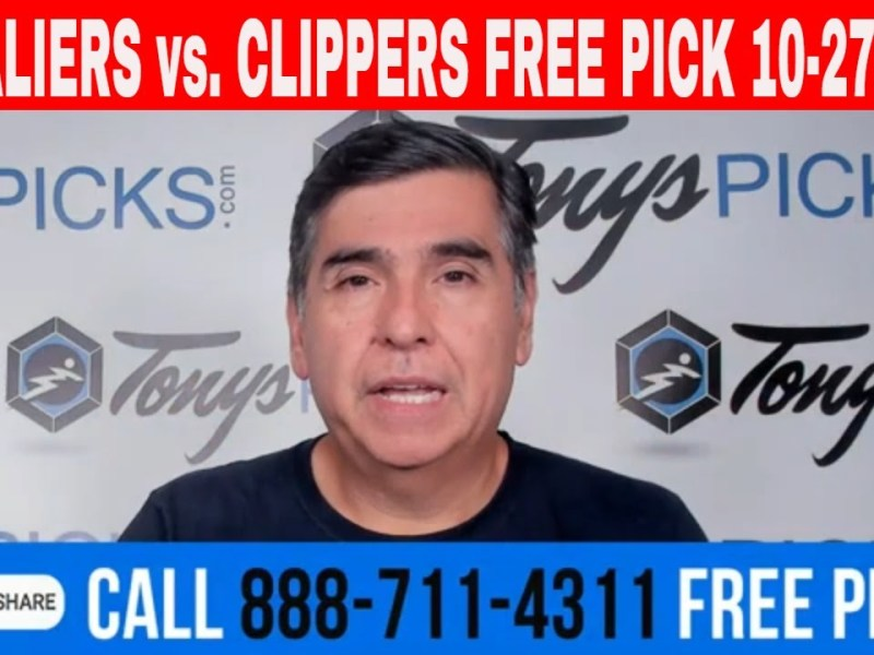 Cavaliers vs. Clippers 10/27/21 FREE NBA Picks and Predictions on NBA Betting Tips for Today