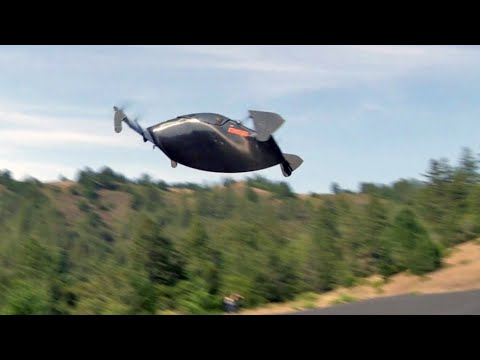 CBS Correspondent Takes a Flying Car Up for a Spin