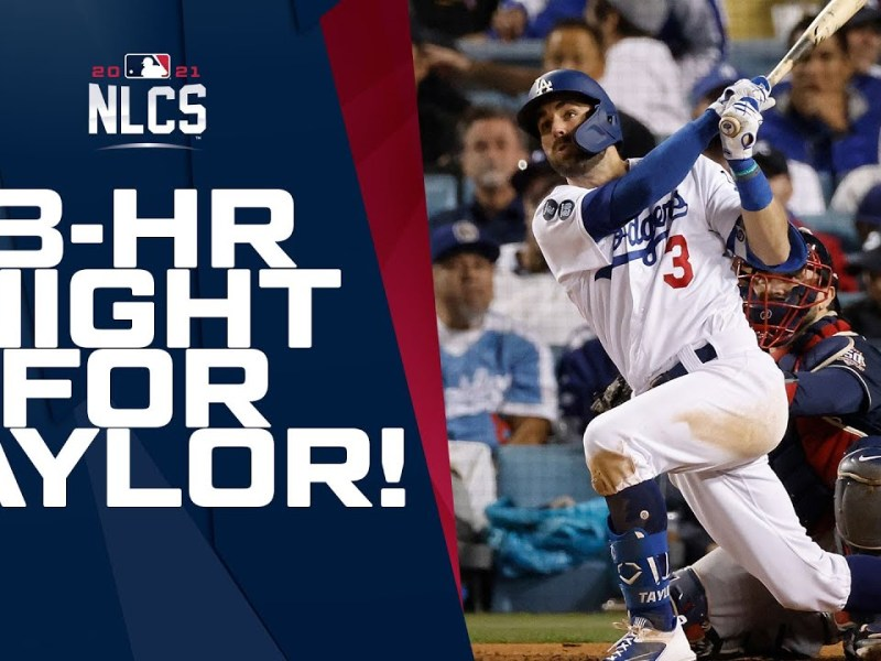 Chris Taylor has a HISTORIC night with 3 home runs!