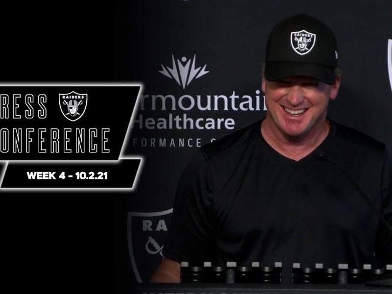 Coach Gruden on Final Preparations for the Chargers, RB Josh Jacobs | Raiders