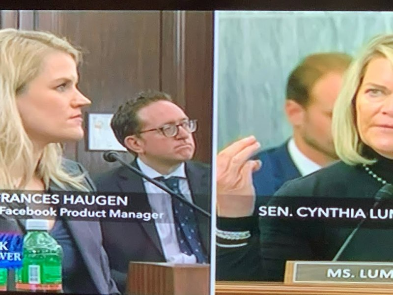 Explaining Frances Haugen's Comment On African Americans and Facebook Distribution Before Congress