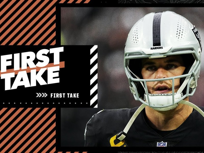 First Take discusses how Derek Carr must step up & lead the Raiders following Jon Gruden's departure