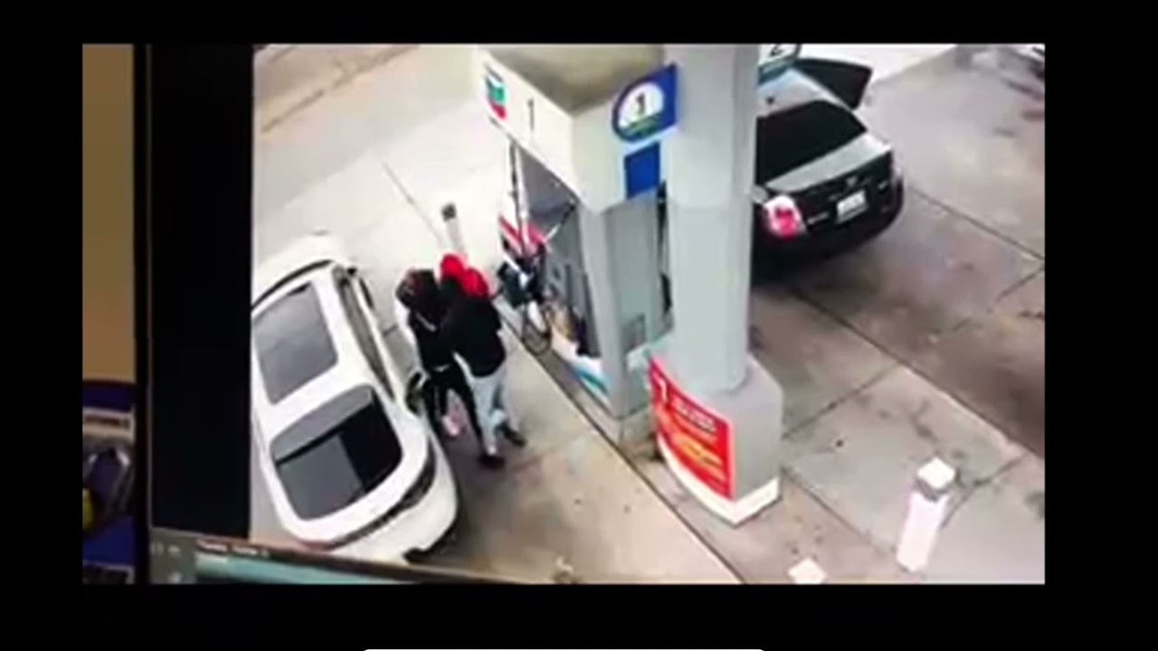 Full video – Oakland retired police captain shot and 1 killed after attempted robbery at gas station - Blog