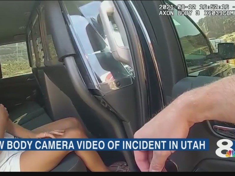 Gabby Petito tells officer Brian Laundrie hit her in newly released body camera video