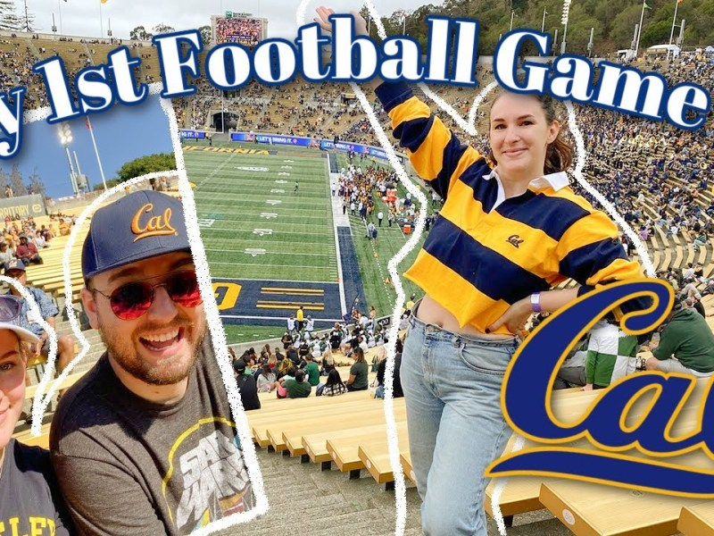 GAMEDAY VLOG AT UC BERKELEY!! | My First College Football Game | Homecoming Weekend at Cal