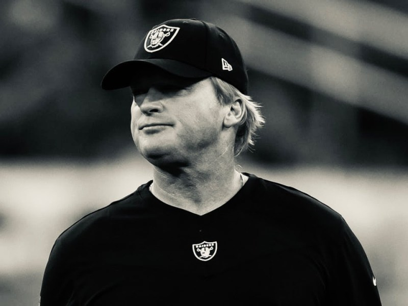 Jon Gruden To Get Removed From Madden 22 Following E-Mail Scandal, By: Vinny Lospinuso