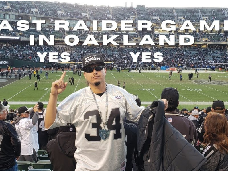 Last Oakland Coliseum Raider Game Experience From the Past to the Last