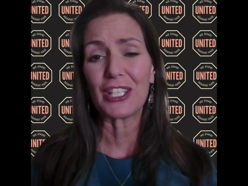 Libby Schaaf, Mayor of Oakland, CA For United Against Hate Week