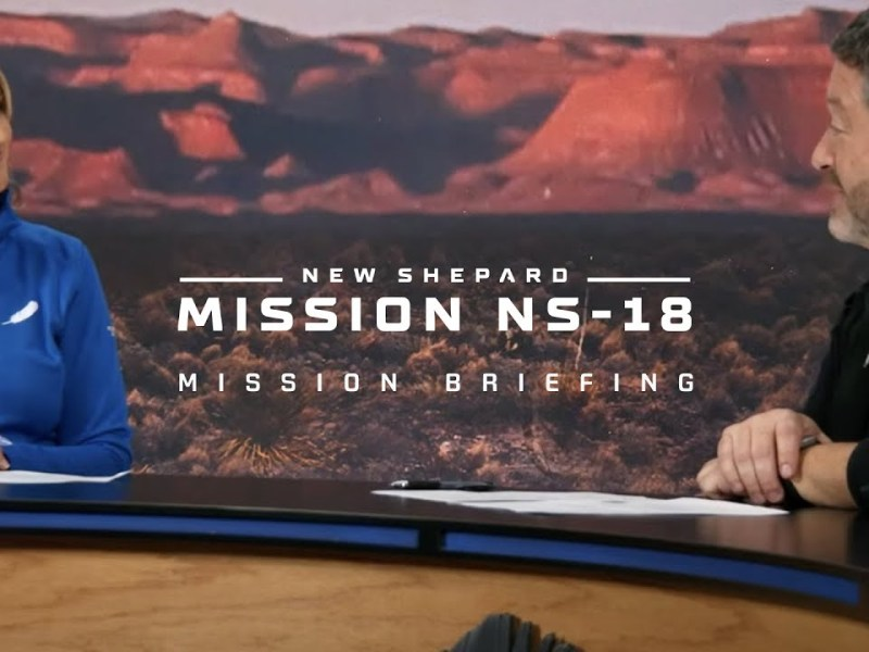 New Shepard NS-18 Pre-Mission Interview: Nick Patrick